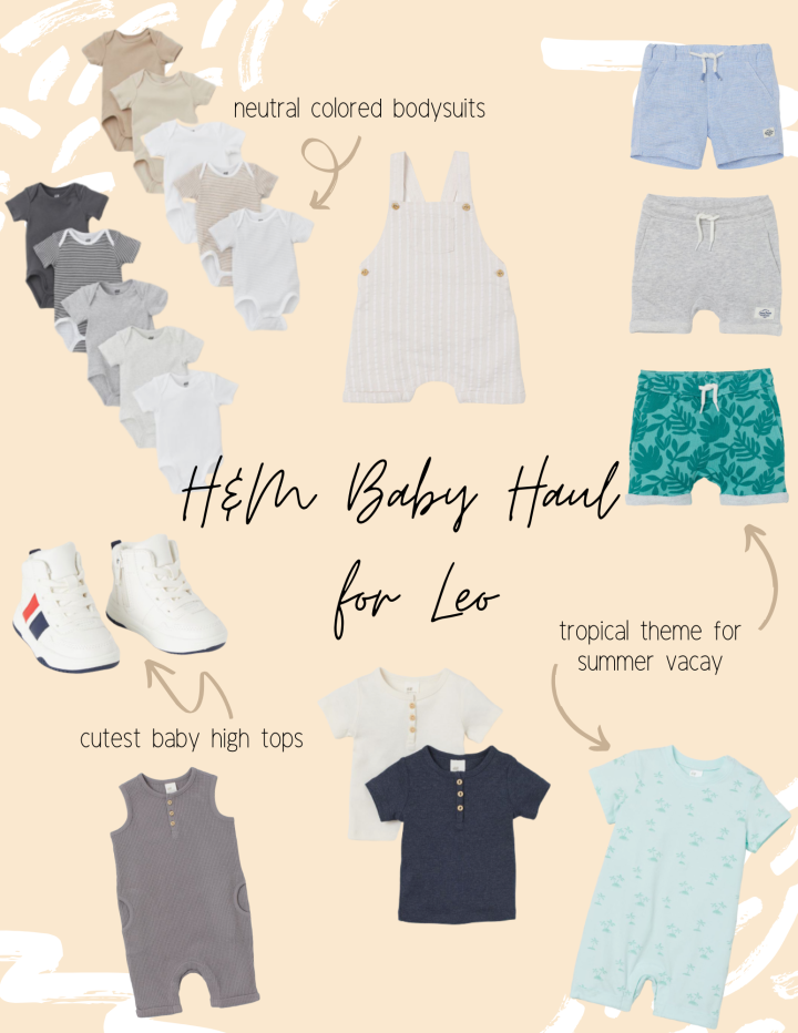 Leo's Summer Style: H&M Clothing Haul